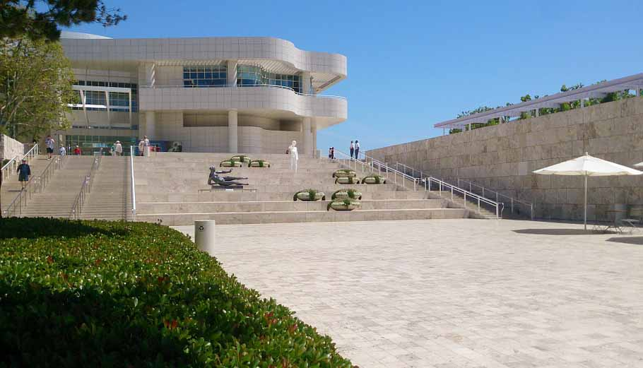 los angeles attractions Getty Center
