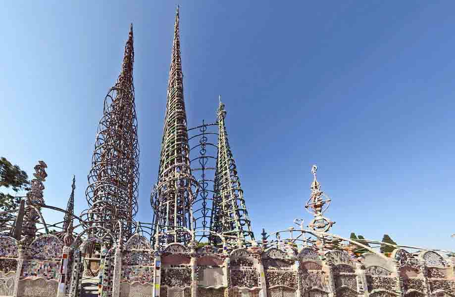 Los Angeles attractions are Watts Towers