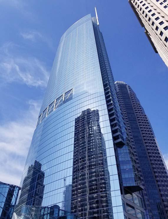 tallest building in la